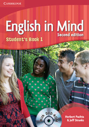 English in Mind 1 Student's Book with DVD-ROM - 2nd edition | localhost