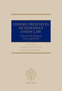 constitutional principles of eu external relations de baere geert